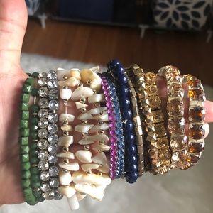Bundle of Stretchy Bracelets